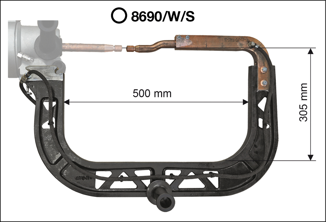 8690WS arms (included)